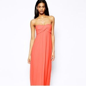 ASOS   Strapless Maxi Dress